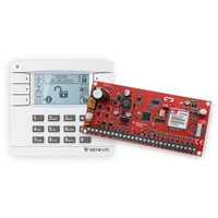 PRiMA16SET Zestaw centrali alarmowej PRiMA 16 z manipulatorem LCD Genevo, PRIMA16SET
