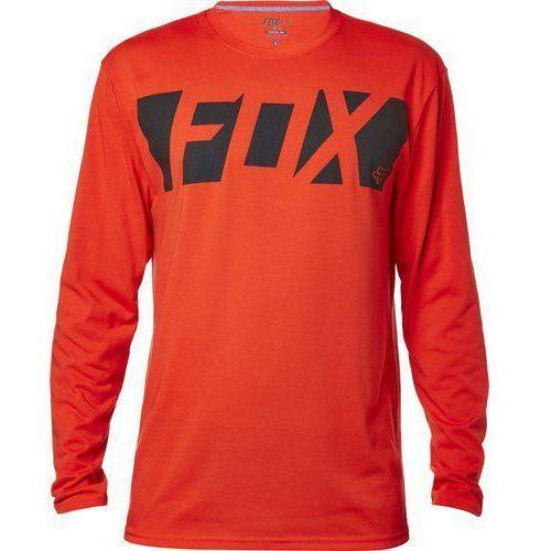 Fox_sale Koszulka z długim rękawem fox cease tech flame red