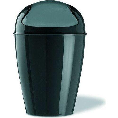Koziol DEL XL Kosz na śmieci czarny (4002942166918)