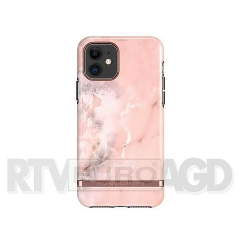 Richmond & Finch Pink Marble - Rose Gold iPhone 11 (7350111350758)