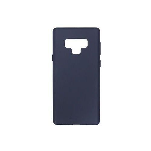 Samsung Galaxy Note 9 - Mercury Goospery Soft Feeling - granatowy, ETSM758GMSFDBL000