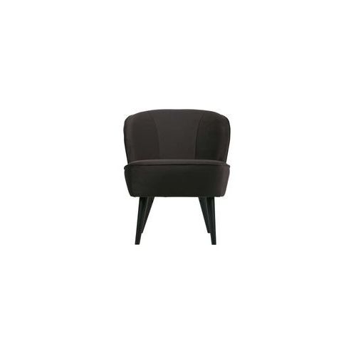 Woood fotel sara z aksamitu antracytowy 375690-a (8714713080472)