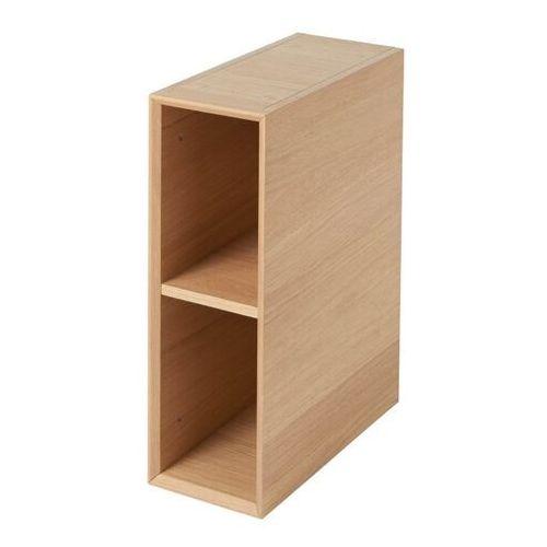 Goodhome Szafka wisząca avela 20 cm z 2 półkami drewno (5059340018058)