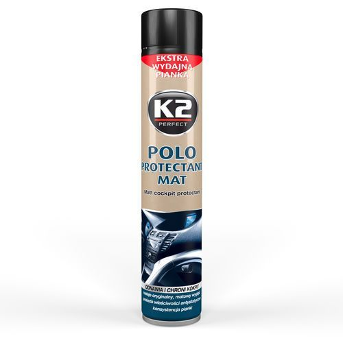 POLO PROTECTANT 750 ML SPRAY BLAK Pianka do czyszczenia kokpitu o zapachu blak - 750 ml (5906534100009)