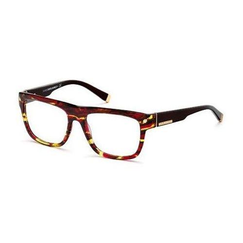 Okulary korekcyjne dq5076 55a marki Dsquared2
