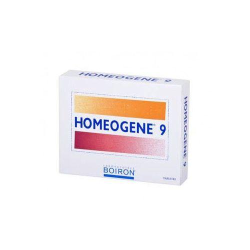 Tabletki BOIRON HOMEOGENE 9 na ból gardła i chrypkę x 60 tabletek