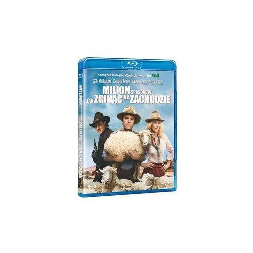 Milion sposobów, jak zginąć na zachodzie [Blu-ray]