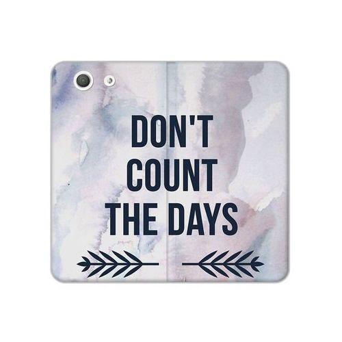 Sony Xperia Z3 Compact - etui na telefon Flex Book Fantastic - don't count the days