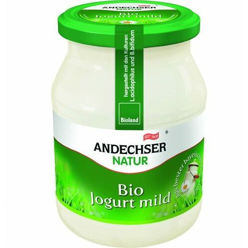 Jogurt naturalny 3,7% bio 500 g natur marki Andechser