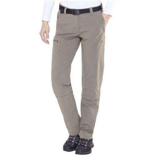 arolla spodnie długie kobiety brązowy de 42 (normal size) 2018 spodnie z odpinanymi nogawkami marki Maier sports