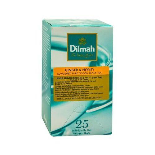 ginger&honey 25 torebek marki Dilmah