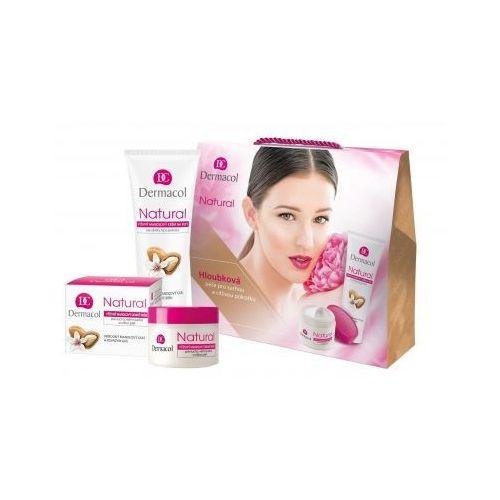 Dermacol  natural almond zestaw krem na dzień 50 ml + krem do rąk 100 ml dla kobiet