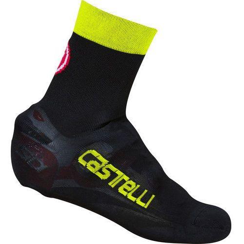 Castelli Belgian 5 Osłona na but żółty/czarny S-M   36-39 2018 Ochraniacze na buty i getry (8055688542825)