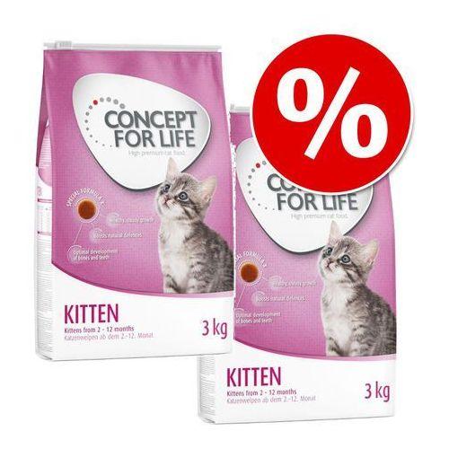 Concept for life | promocja cyber week |20% taniej! 2 x 3 kg karma sucha dla kota - outdoor cats| darmowa dostawa od 89 zł i super promocje od zooplus!