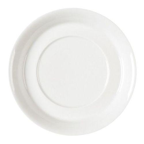 Rak Fine dine spodek pod bulionówkę | porcelanowa