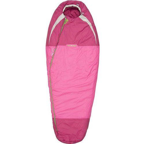 Mammut kompakt mti 3-season 170 śpiwór kobiety różowy śpiwory syntetyczne