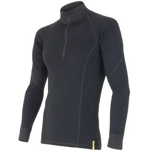 koszulka termoaktywna z długim rękawem double face merino wool m black xxl marki Sensor