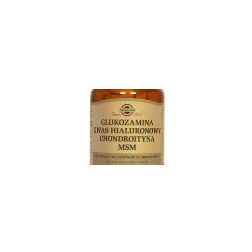 Glukozamina kwas hialuronowy chondroityna MSM kompleks
