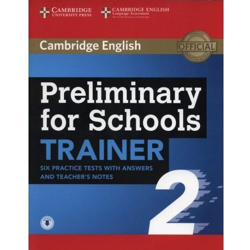 APT Preliminary for Schools Trainer 2 - Cambridge University Press, oprawa miękka
