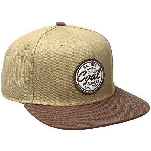 Coal Nowa czapka the classic cap brown