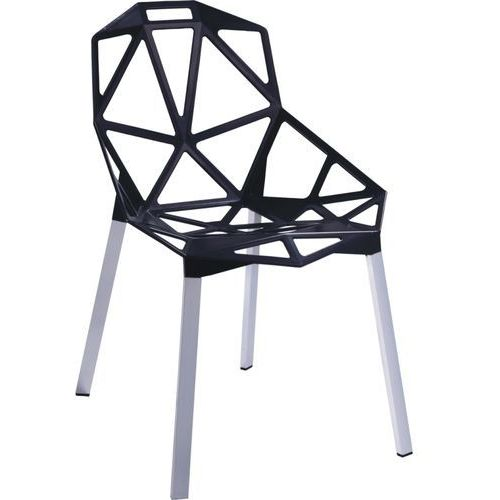 Krzesło gap czarne modern house bogata chata marki D2.design
