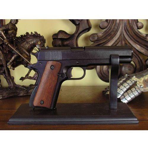 Colt government wz 1911 z drewnianą rękojeściąc (m-1227) marki Denix