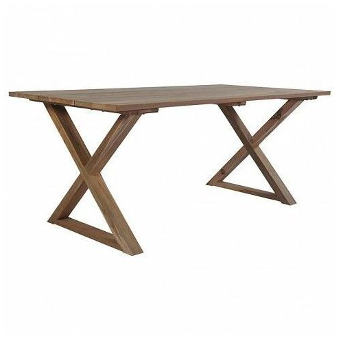 Ekologiczny stół ogrodowy Navire z drewna tekowego