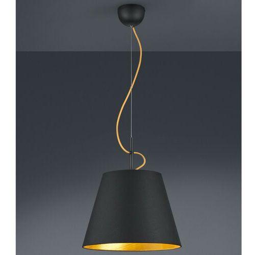 Lampa wisząca andreus 307500179 loftowa oprawa abażurowy zwis czarny marki Trio