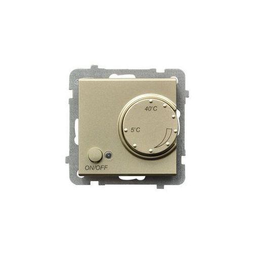 OSPEL SONATA RTP-1R/M/39 Regulator temperatury SZAMPAŃSKI ZŁOTY, RTP-1R/M/39