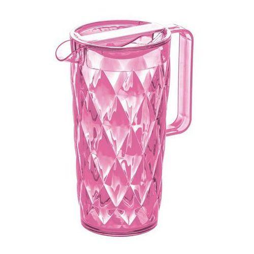 Dzbanek crystal różowy marki Koziol