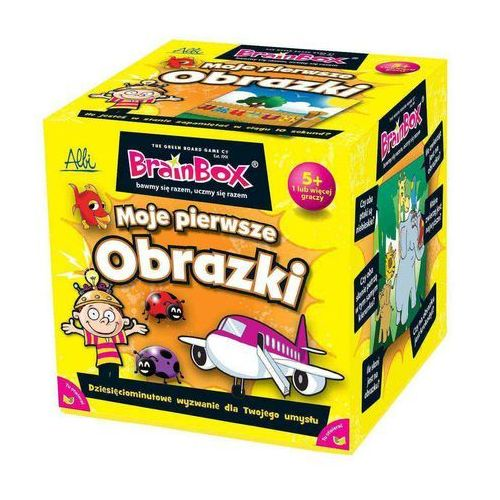 Brainbox Moje pierwsze obrazki (8590228009210)