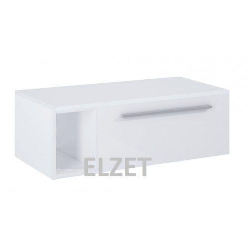 Elita szafka podumywalkowa kwadro slim white + blat 80 + moduł 165806.165853.166504