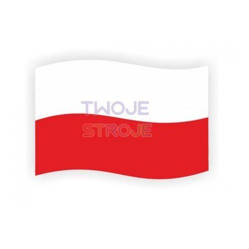 MAGNES SAMOCHODOWY FLAGA POLSKA 1szt, #A1407