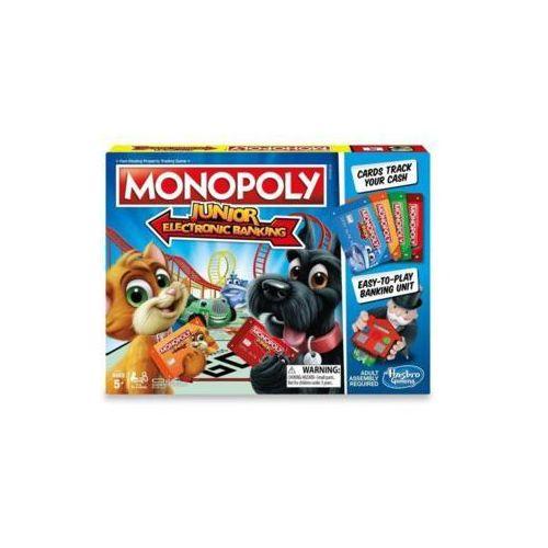 Hasbro Gra monopoly junior electronic banking - darmowa dostawa od 199 zł!!! (5010993466337)