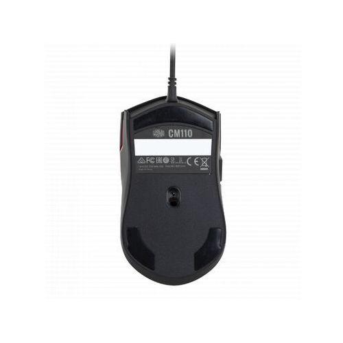 COOLER MASTER CM110 6000 DPI RGB czarna CM-110-KKWO1