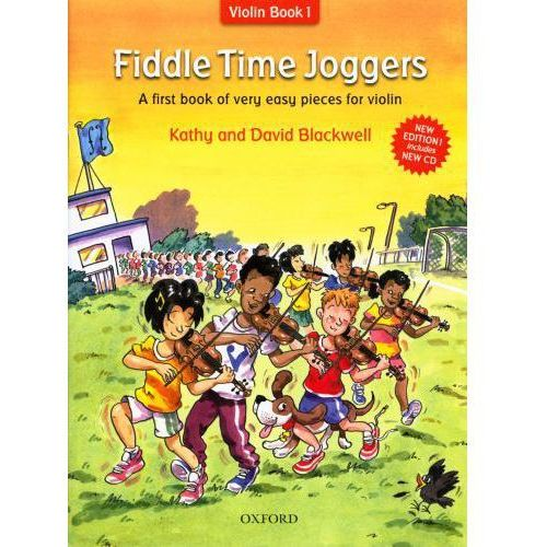 blackwell kathy, david - fiddle time joggers. violin book 1 (utwory na skrzypce + cd)- nowe wydanie marki Pwm