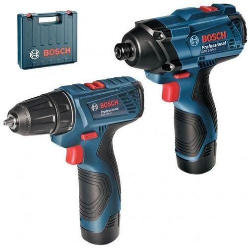 Bosch professional akumulatorowa wkrętarka udarowo-obrotowa gsr 120-li + gdr 120-li (06019f0002) (3165140888486)