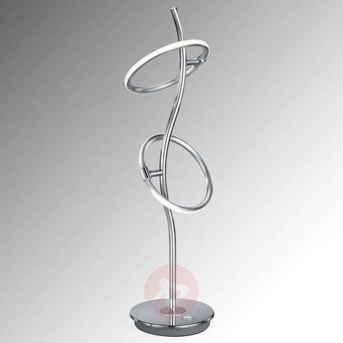 olympus lampa stołowa led chrom, 2-punktowe - design - obszar wewnętrzny - olympus - czas dostawy: od 4-8 dni roboczych marki Trio