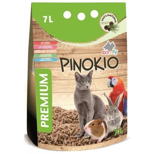 Comfy  pinokio żwirek drewniany 7l- rób zakupy i zbieraj punkty payback - darmowa wysyłka od 99 zł (5905546142427)