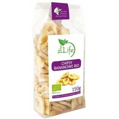 Biolife 150g chipsy bananowe bio (5901785340037)