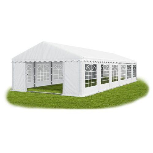 Namiot 6x12x2, wzmocniony pawilon ogrodowy, summer plus/ 72m2 - 6m x 12m x 2m marki Das company