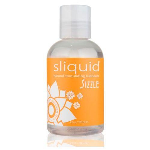 Sliquid Stymulujący środek nawilżający - naturals sizzle lubricant 125 ml