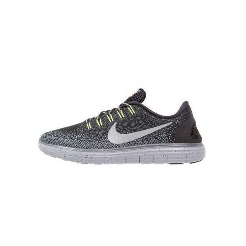 Nike Performance FREE RUN DISTANCE SHIELD Obuwie do biegania neutralne schwarz/grau