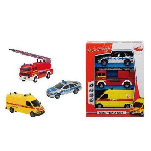 DICKIE SOS Zestaw 3 pojazdów, 81754302830ZA (6219392)