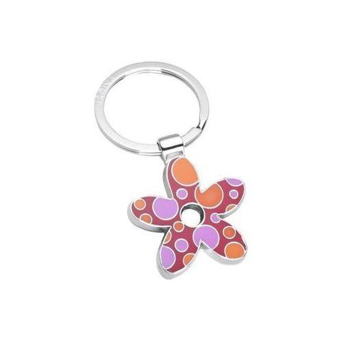 Breloczek do kluczy z kwiatkiem marki fizzy flower marki Troika