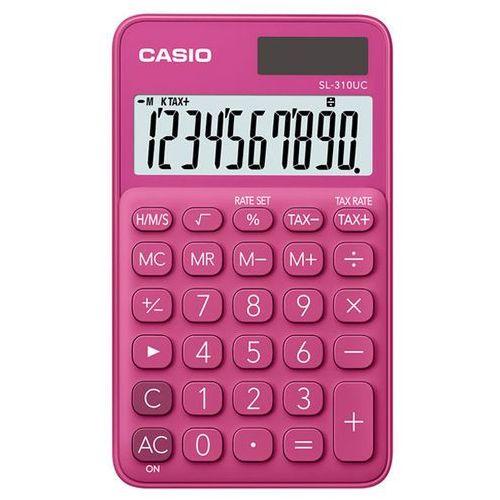 Casio Kalkulator sl-310uc-rd różowy (4549526700101)