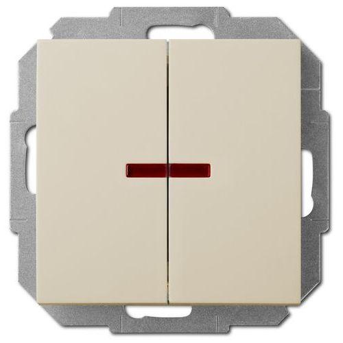 Elektro-plast nasielsk Sentia łącznik świecznikowy z podświetleniem 1424-11 (5906868430766)