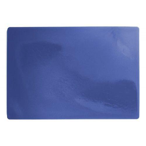 Deska polietylenowa HDPE do krojenia, HACCP, niebieska, wymiary 49,5x35x2 cm, XANTIA 78560