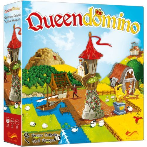 Gra queendomino - darmowa dostawa od 250 zł!! marki Foxgames