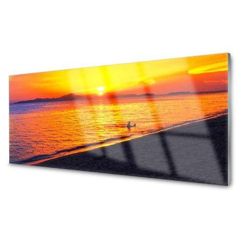 Tulup.pl Panel kuchenny morze słońce plaża krajobraz